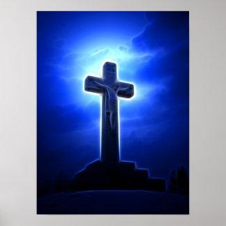 Stunning Jesus Crucifixion Print