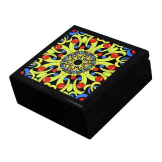 Stunning Kaleidoscope  Design Tile Box Trinket Box