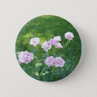 Stunning Lavendar Roses Pinback Button