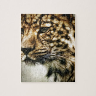 Stunning Leopard, 'made of light' art accessories Puzzles