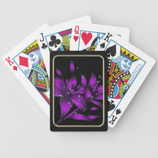 Stunning Lilies Flower Art Playing Cards