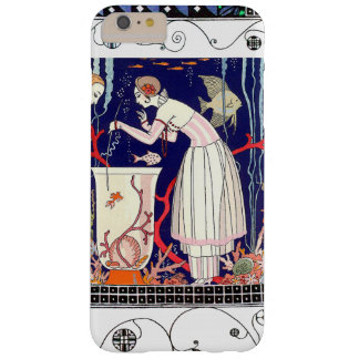 STUNNING LITTLE FISH ,ART DECO BEAUTY FASHION BARELY THERE iPhone 6 PLUS CASE