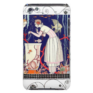 STUNNING LITTLE FISH ,ART DECO BEAUTY FASHION iPod TOUCH COVERS