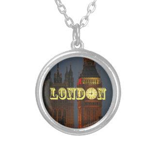 Stunning London Pro Photo Round Pendant Necklace