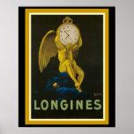 Stunning Longines Vintage Ad Poster 16 x 20
