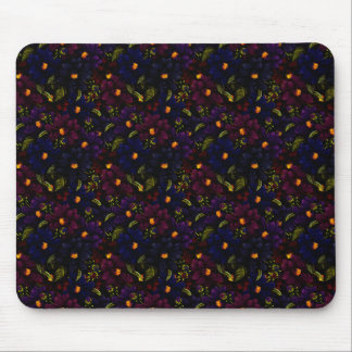 Stunning Multi Colored Flowers Mouse Pad