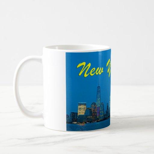 Stunning new New York Skyline Classic White Coffee Mug