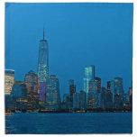 Stunning new New York Skyline Napkins
