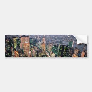 Stunning! New York City USA Bumper Sticker