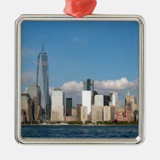 Stunning New York City USA Metal Ornament