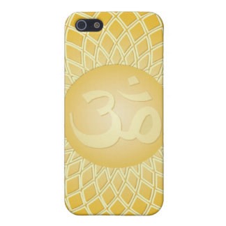 Stunning Om Symbol in yellow iPhone 5/5S Cover