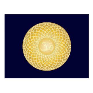 Stunning Om Symbol Postcard