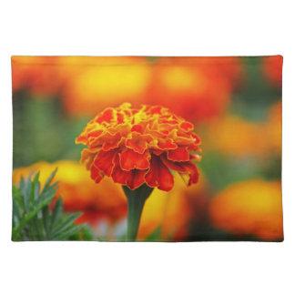Stunning Orange Marigold Placemat
