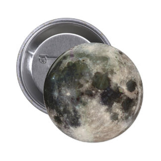 Stunning Photo of the Moon Pinback Button