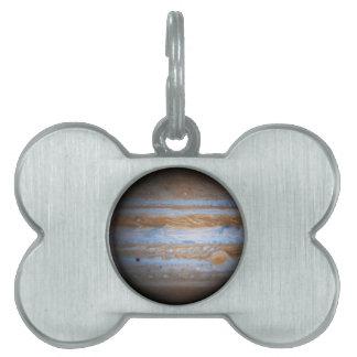 Stunning Photo of the Planet Jupiter Pet Tag