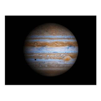 Stunning Photo of the Planet Jupiter Postcard