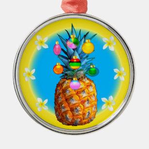 stunning pineapple christmas ornament