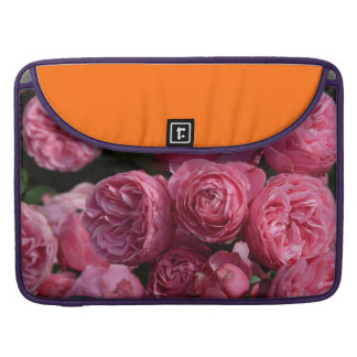 Stunning Pink Roses Sleeve For MacBooks
