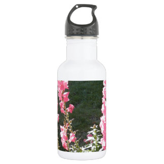 Stunning Pink Snapdragons Stainless Steel Water Bottle