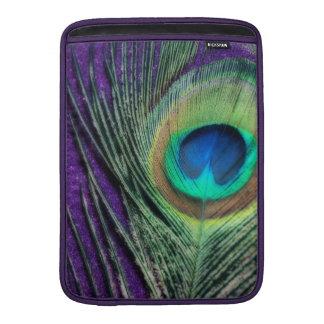 Stunning Purple Peacock Sleeves For MacBook Air