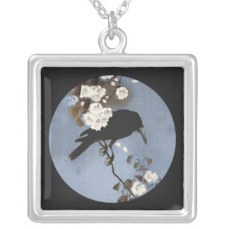 Stunning Raven Charm Necklace
