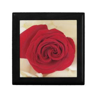 Stunning Red Rose Memory Keepsake Box