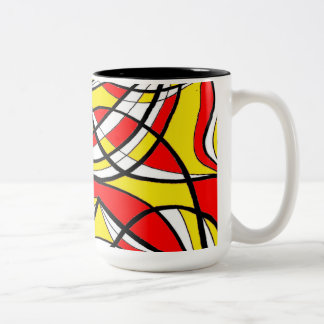 Stunning Self-Disciplined Funny Refined Two-Tone Coffee Mug