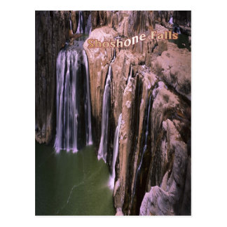 Stunning Shoshone Falls in Idaho, postcard