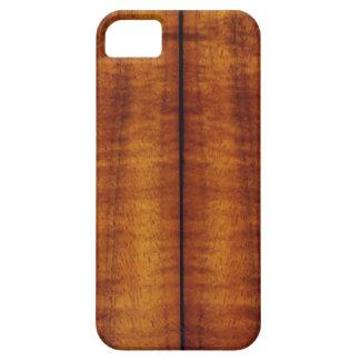 Stunning Split Hawaiian Koa Longboard iPhone 5 Cover