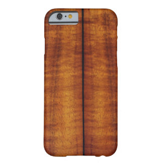 Stunning Split Hawaiian Koa Longboard iPhone 6 Case