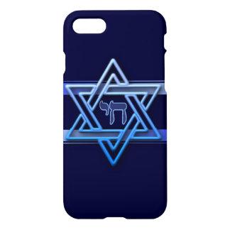 Stunning Star of David chai iPhone 8/7 Case