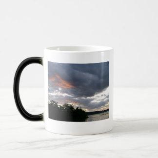 Stunning Sunrise Along Ohio River Magic Mug