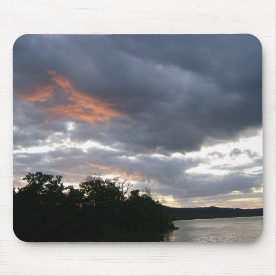 Stunning Sunrise Along Ohio River Mouse Pad