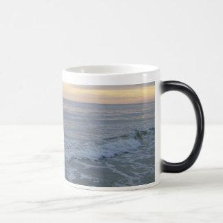 Stunning Sunset Along the Shore Magic Mug