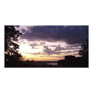 Stunning Sunset Photo Card