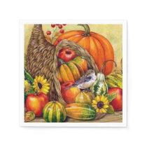 stunning Thanksgiving arrangement Napkin