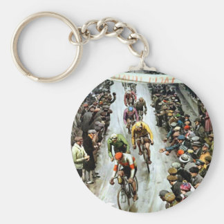 Stunning Vintage Cylcing Gift Key Chains