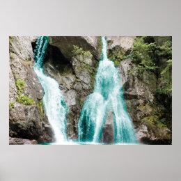 Stunning Waterfall Poster
