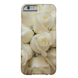 Stunning White Rose Wedding Bouquet Barely There iPhone 6 Case
