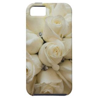 Stunning White Rose Wedding Bouquet iPhone SE/5/5s Case