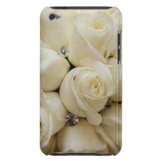 Stunning White Rose Wedding Bouquet iPod Touch Case