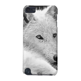 Stunning White Wolf iPod Touch 5G Cover