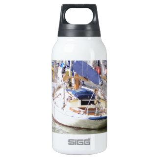 Stunning Yacht Ayesha Insulated Water Bottle