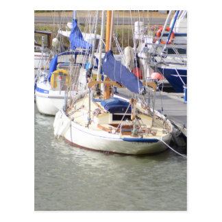 Stunning Yacht Ayesha Postcard