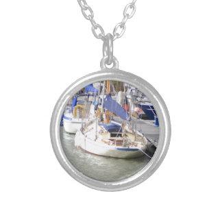 Stunning Yacht Ayesha Round Pendant Necklace
