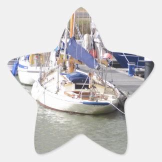 Stunning Yacht Ayesha Star Sticker