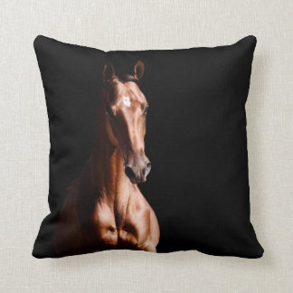 Stunning Young Stallion Throw Pillow