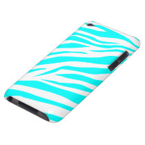 Stunning Zebra Print Barely There iPod Case