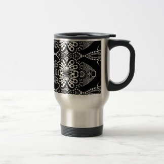 Stunning zen doodle trible art. Fab gift! Travel Mug