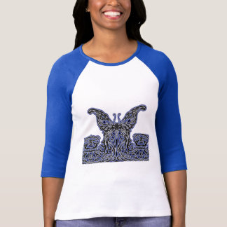Stunnng Tribal/Celtic Butterfly shirt